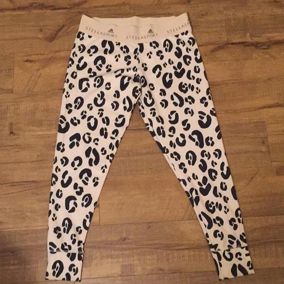 f016b1f8b2af Adidas by Stella McCartney Pants - STELLASPORT Adidas Leopard Print Leggings